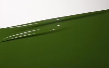 1/2 metro di lattice, Verde muschio, 0.40mm, larghezza 1m