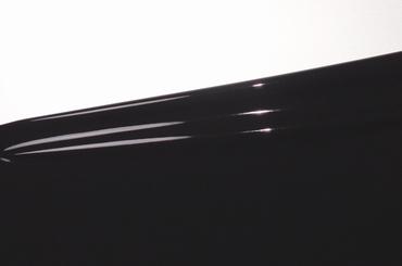Latex per meter, Zwart/Black,  0.25 mm, LPM