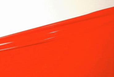 Latex per meter, Flame-Scarlet, 0.50mm. 1m breed, LPM