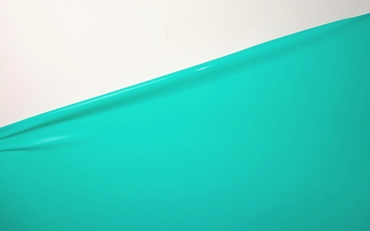 Aqua-Green, Latex sheet, per meter,  0.40mm, LPM