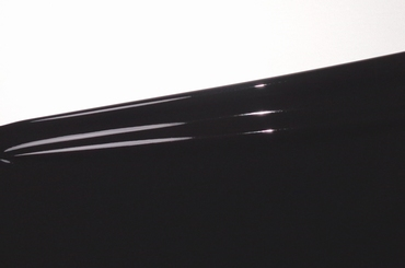 1/2 meter latex, Zwart/Black 0.60 mm, 1m breed, LPM