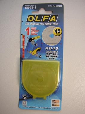 Rotación de la hoja de repuesto, OLFA rotary cutter (45 mm)