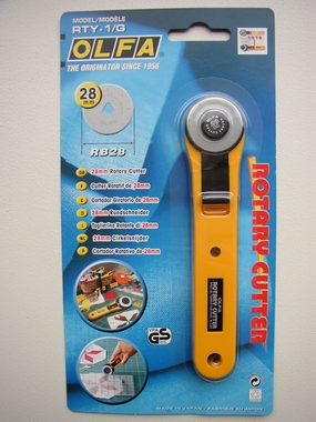 OLFA rotary cutter (28 mm)