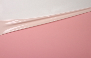 Latex Dual-Color, pro 10m Rolle,Pink-Shell-White, 0.40mm,LPM