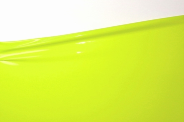 1/2 meter latex, Lime green, 0.40 mm, 1m wide