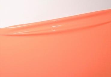 1/2 meter latex, Coral pink, 0.40 mm, 1m wide