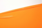 Latextuch pro Meter, Curcuma Orange,   0.40mm, LPM