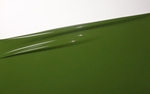 Moss green, Latex sheet, per meter,  0.40mm, LPM