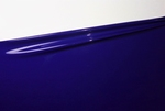 Midnight blue, Latex sheet, per meter,  0.40mm, LPM