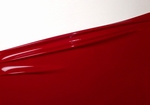 1/2 meter latex, Wijn-Rood, 0.40mm,1m breed, LPM