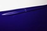 1/2 meter latex, Midnight blauw, 0.40mm,1m breed, LPM