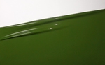 1/2 meter latex, Moss green, 0.40 mm, 1m wide