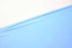 Latex per meter, Babyblue pastel, 0.40mm. 1m breed, LPM