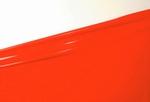 1/2 meter latex, Flame-Scarlet, 0.40 mm, 1m wide, LPM