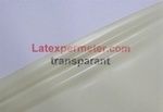 Latex Semi-Transparant Naturel, per rol, 0.25mm, LPM