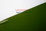 Latex Semi-Transparant Groen, per meter, 0.40mm. LPM