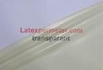 Transparente látex por metro, natural, 0.10mm, LPM