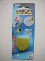 Rotation lame de rechange ( 2 PCs) OLFA Blade (28 mm),