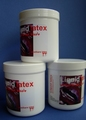 Vloeibare latex-rubber, Pastel-geel