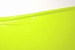 Lime Green, Latex sheet, per meter,  0.40mm, LPM