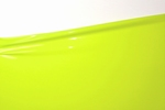 1/2 metro di lattice, Lime green, 0.40mm, larghezza 1m