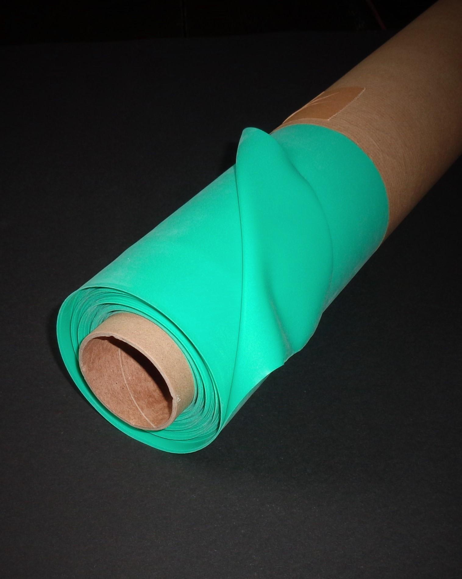 Latextuch pro Meter, Aqua-Green, 0.40mm, LPM
